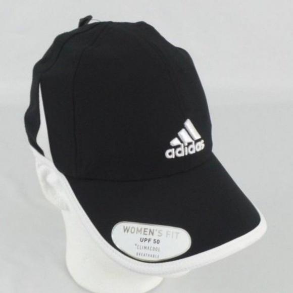 Adidas Woman s Adizero Climacool UPF 50 Black Hat 974cd37ebca8